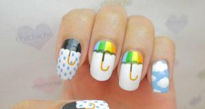 Nail Art Trend for Monsoon