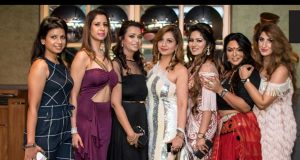 Payal, Gunjan, Anubh, Pooja, Sonam, Pooja and Jaanvi at the right