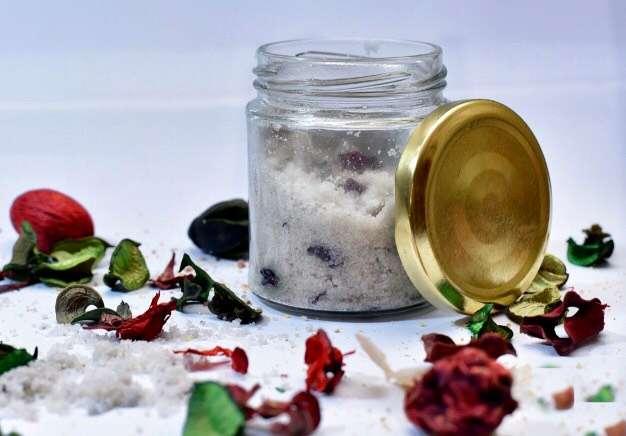 holistic rose bath salt