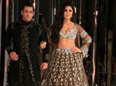 Salman Khan and Katrina Kaif walk for Manish Malhotra
